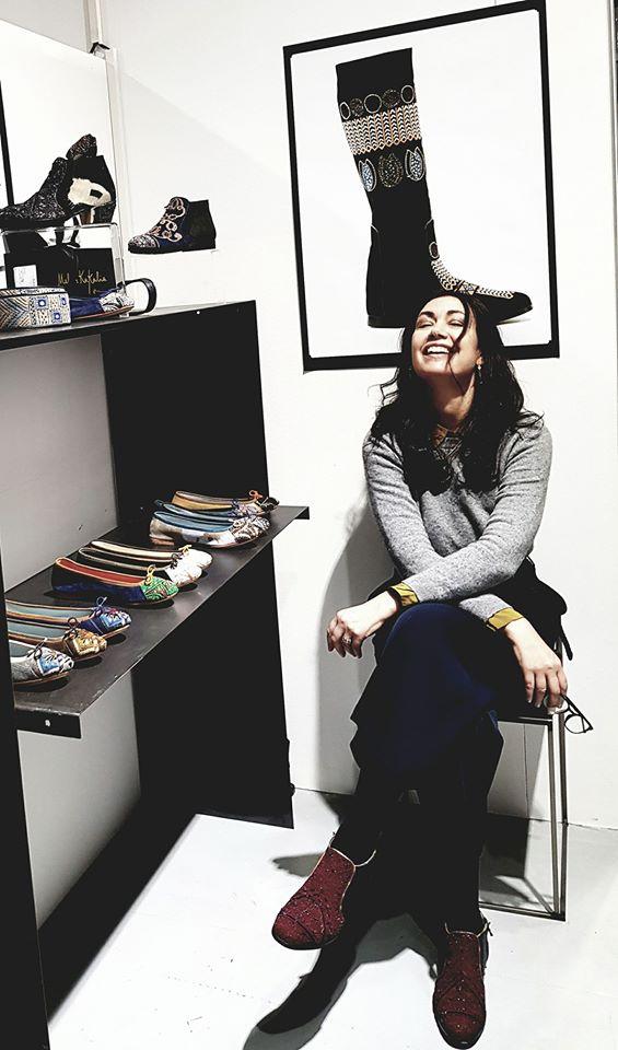 Photo Témoignage Marie-Helene Créatrice de mode bio-éthique (Gauthier)